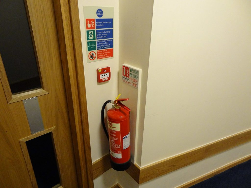 fire extinguisher location How to Make a Fire Safety System in Home Renovation?