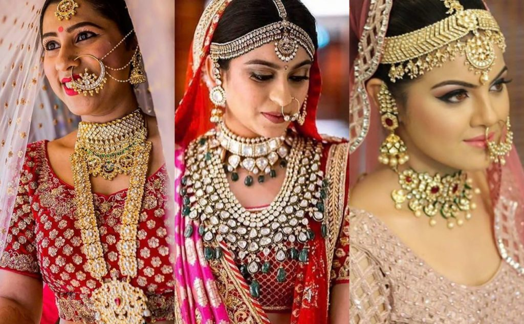 matching The Newest trends in Bridal Jewellery