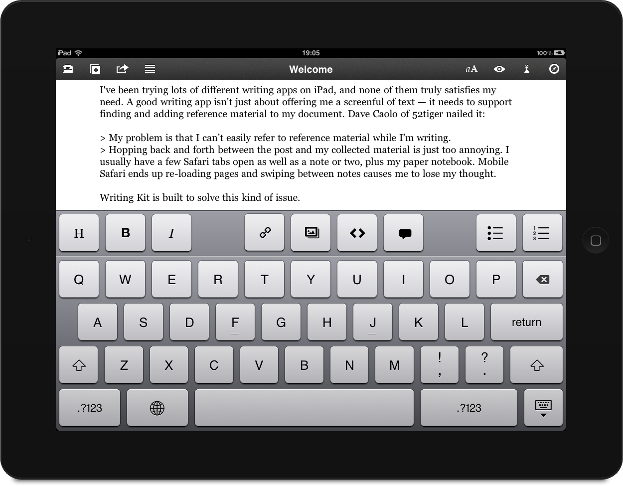 writingkit The 5 Best Writing Apps for Android and iOs