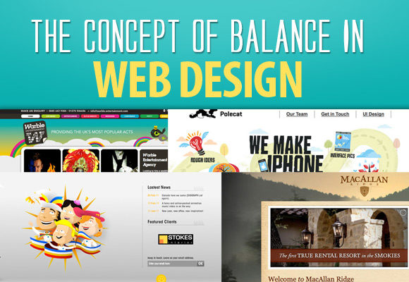 Balance between text and design 5 mistakes to avoid while building your first website
