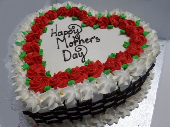 heart shaped cake for mom Most Creative Gift Ideas for this Mother's Day Celebration