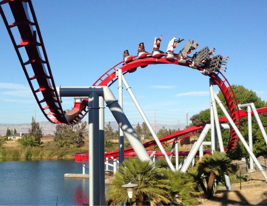 California's Great America amusement park Soak Up the Sun in Santa Clara California
