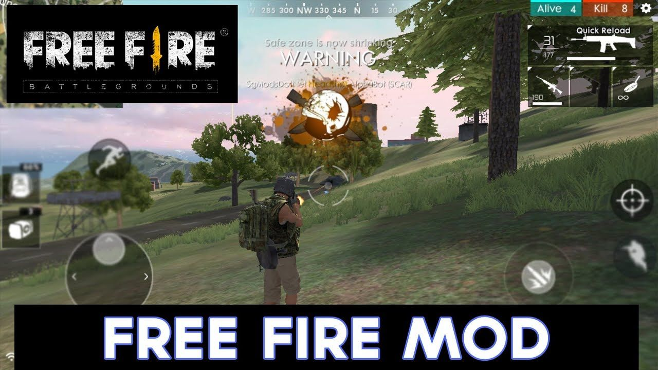 Garena Free Fire Mod Apk for a better gaming experience