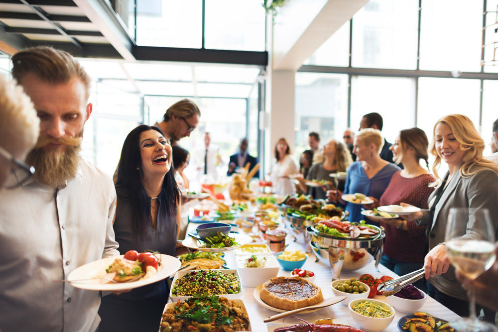 catering Identifying the key partners for your big event