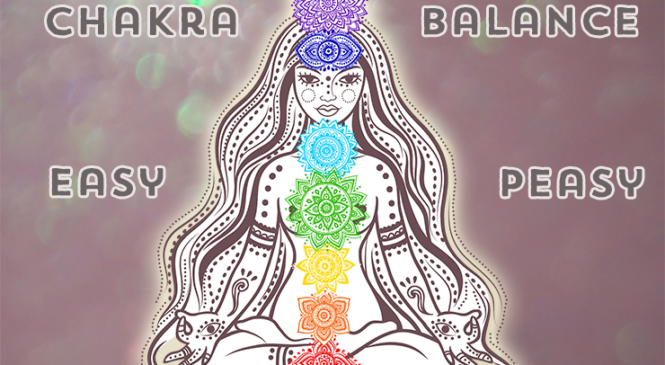 Chakra balancing exercises with metaphysical crystals