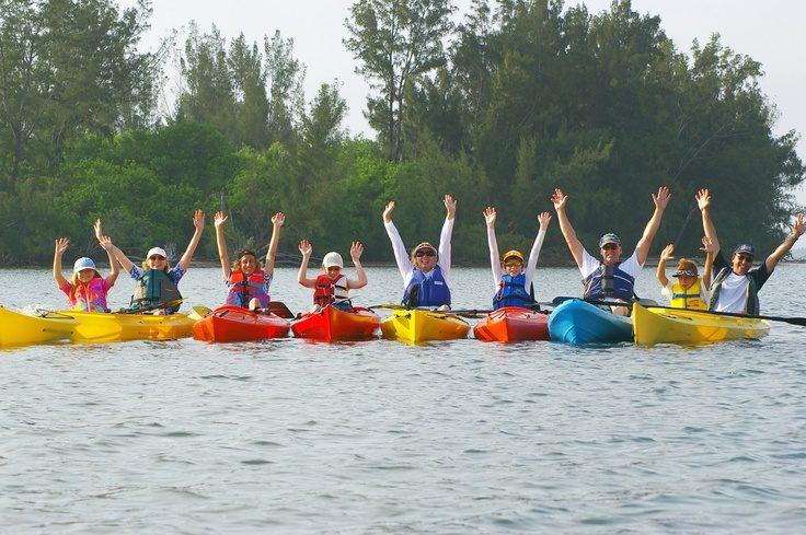 Kayaking in Matlacha, Florida