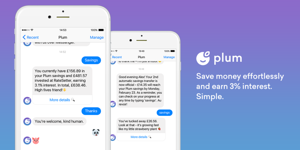 Plum Money Saving Apps To Help You Save Those Pennies