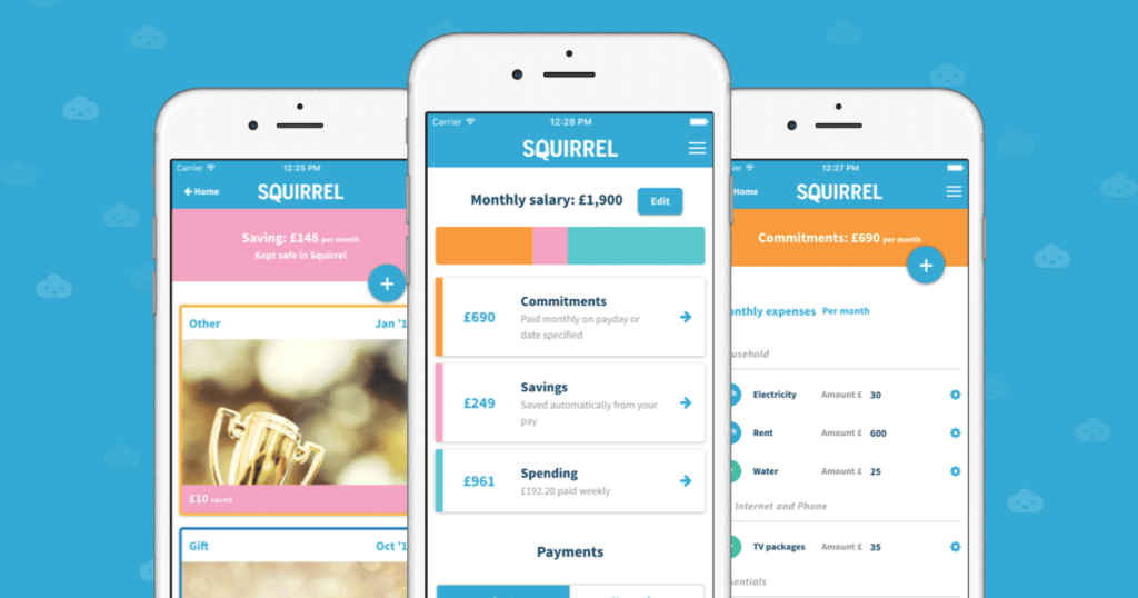 Squirrel Money Saving Apps To Help You Save Those Pennies