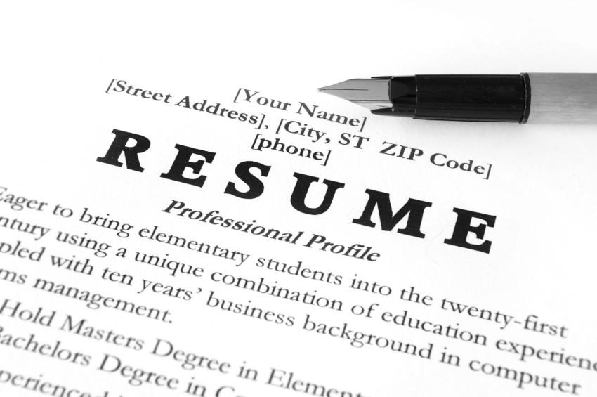 Your Resume What To Think About As You Try To Land Your First Job