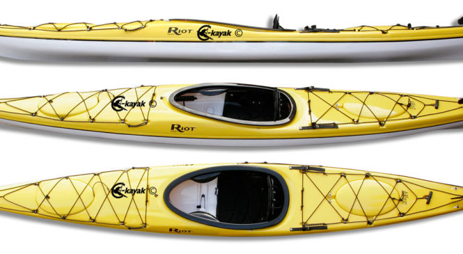 Kayak fishing on shallow, moving water with best motorized kayak