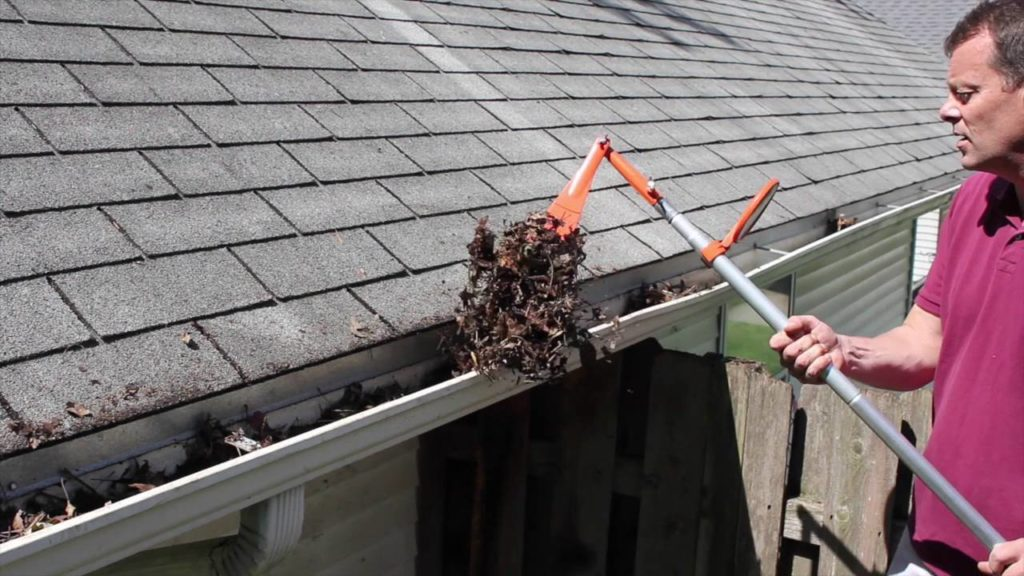 Clean The Guttering Home Improvements To Help In The Summer Months