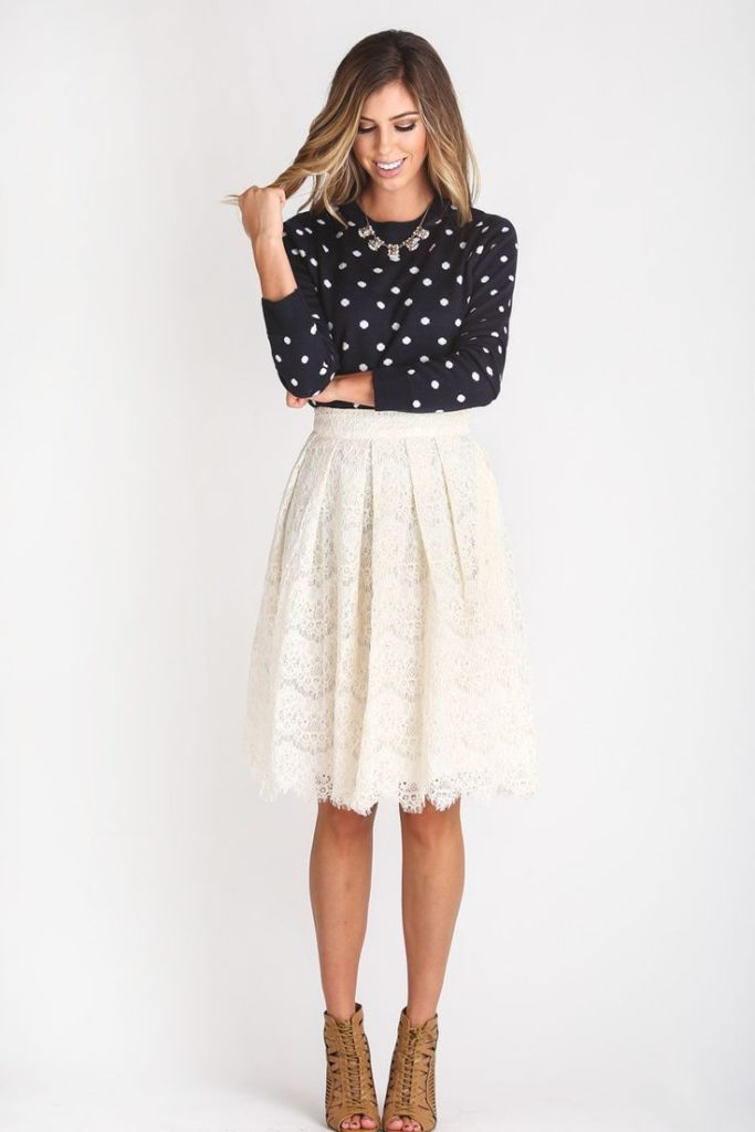 Cute Date Outfit How to Wear This Year's Midi Skirts Trend