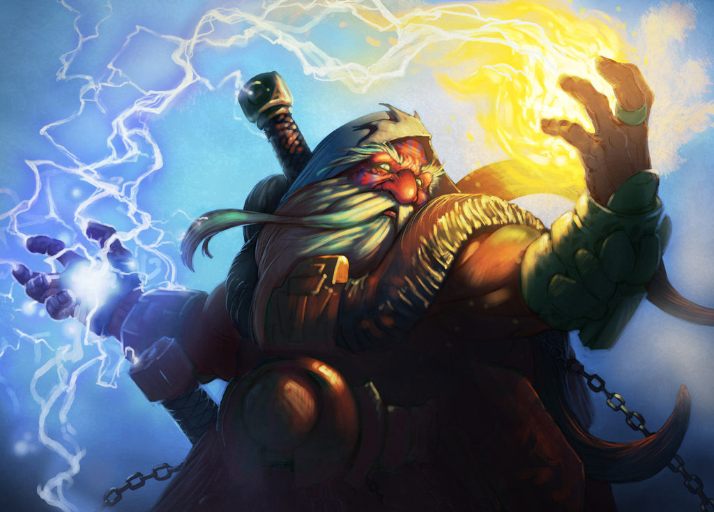 Dwarf Shamans in World of Warcraft