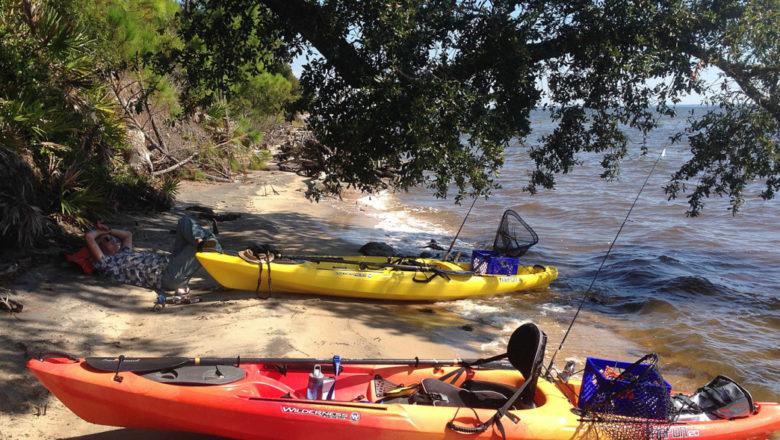 Kayaking in The Kawarthas and Black Creek in Florida's Panhandle