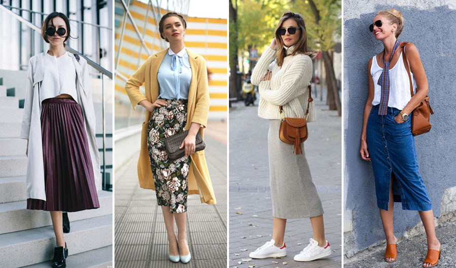 Midi Skirt How to Wear This Year's Midi Skirts Trend