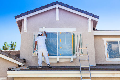 Paint the Outside Home Improvements To Help In The Summer Months