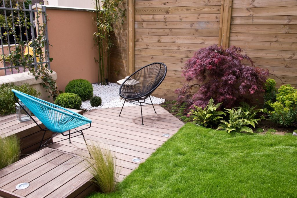 Redesign The Garden Area Home Improvements To Help In The Summer Months