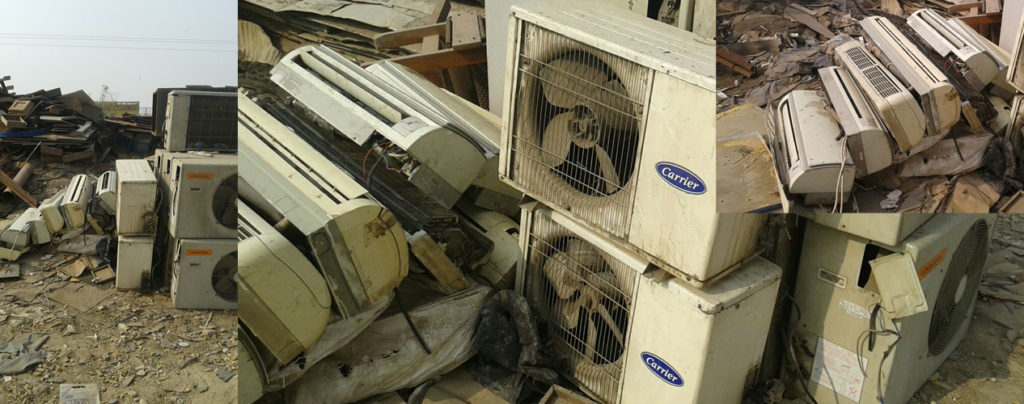 Scrap Yard Air Conditioner Recycling Guide for Homeowners