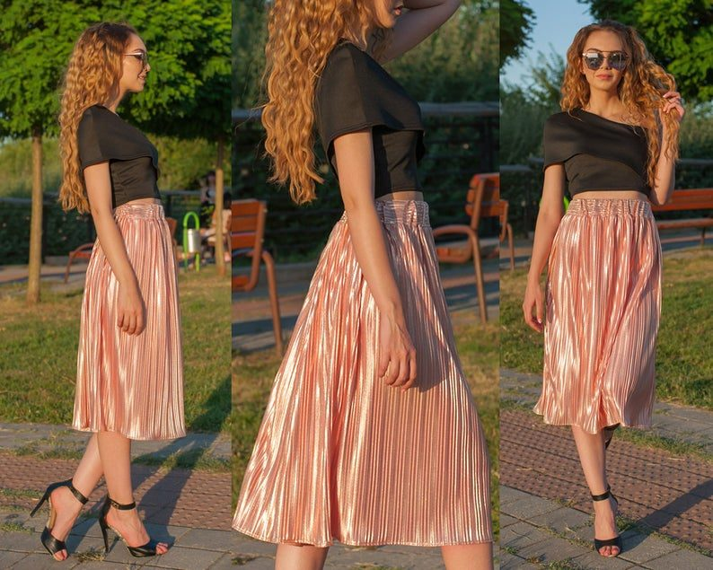 Special Occasion Elegance How to Wear This Year's Midi Skirts Trend