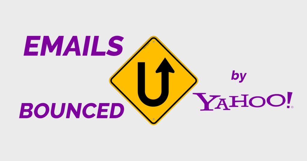 Yahoo Emails Are Bouncing? Here Is What You Can Do