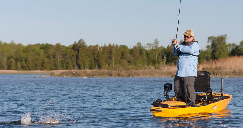 Fishing kayak for big guys at Reno