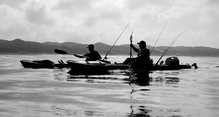 wide fishing kayak