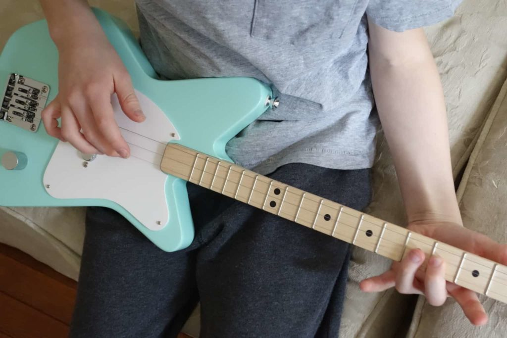 Art of Loog Pro Electric The All New Stylish Electric Guitar for Kids Learning Music