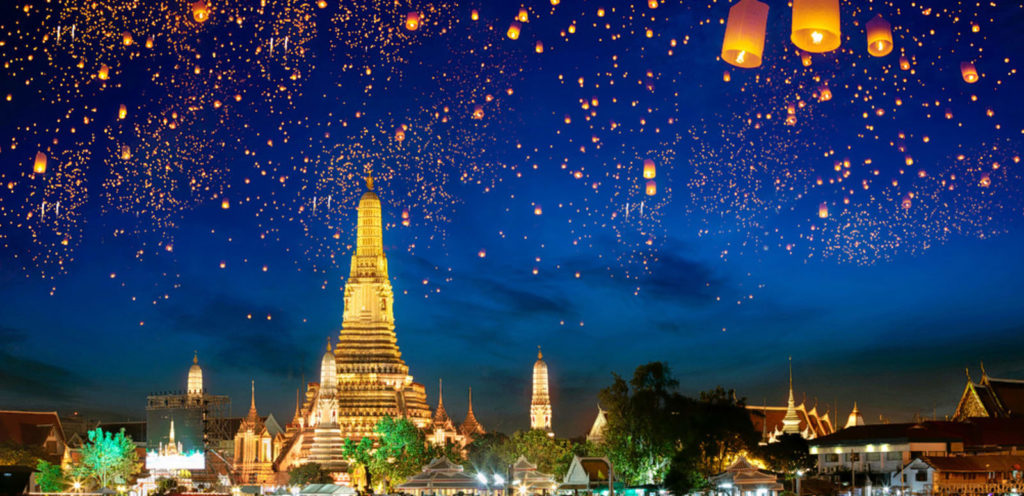 Bangkok 5 CITIES IN THAILAND TO SPEND A HONEYMOON