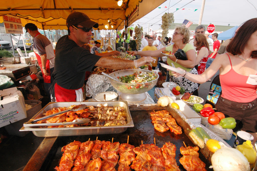 Italian American food at the festival Celebrate the Italian Way in Princeton this Fall