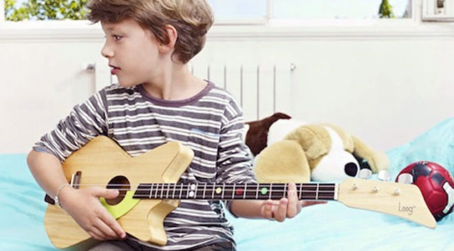 The All New Stylish Electric Guitar for Kids Learning Music
