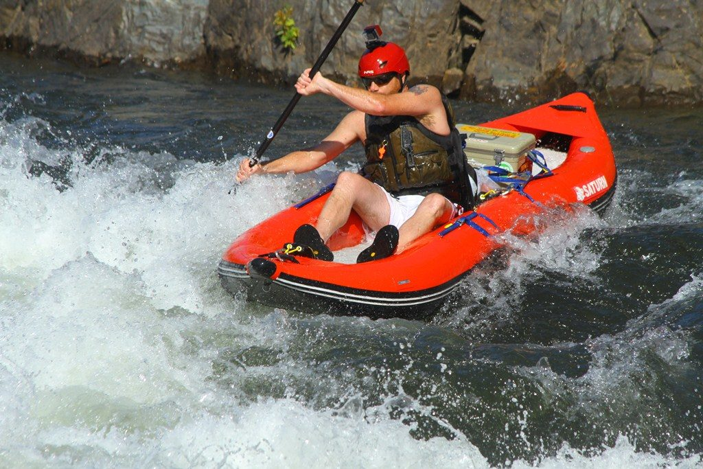 inflatable whitewater kayak
