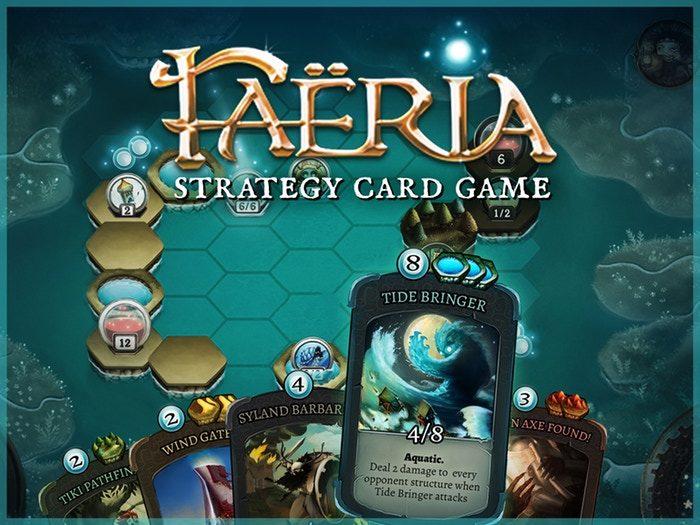 Faeria The best freeware card games - fun virtual card games