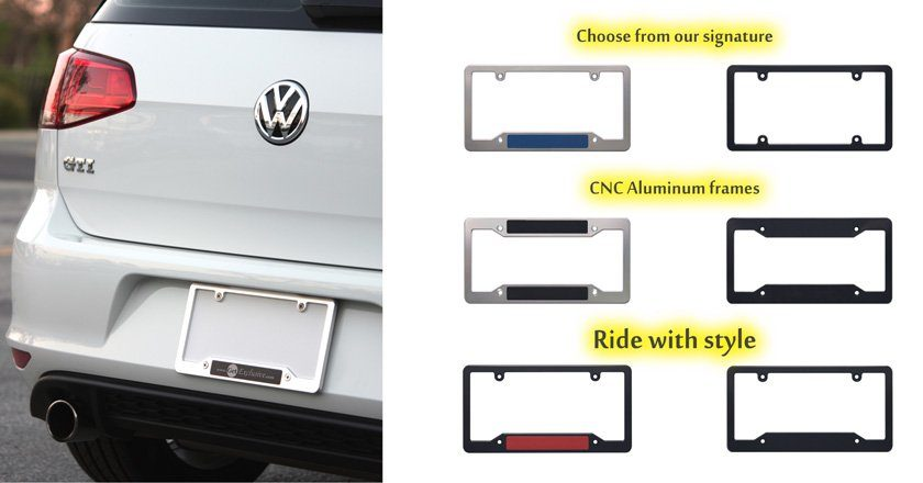 License Plate Frame Tips On How To Customize Your Car