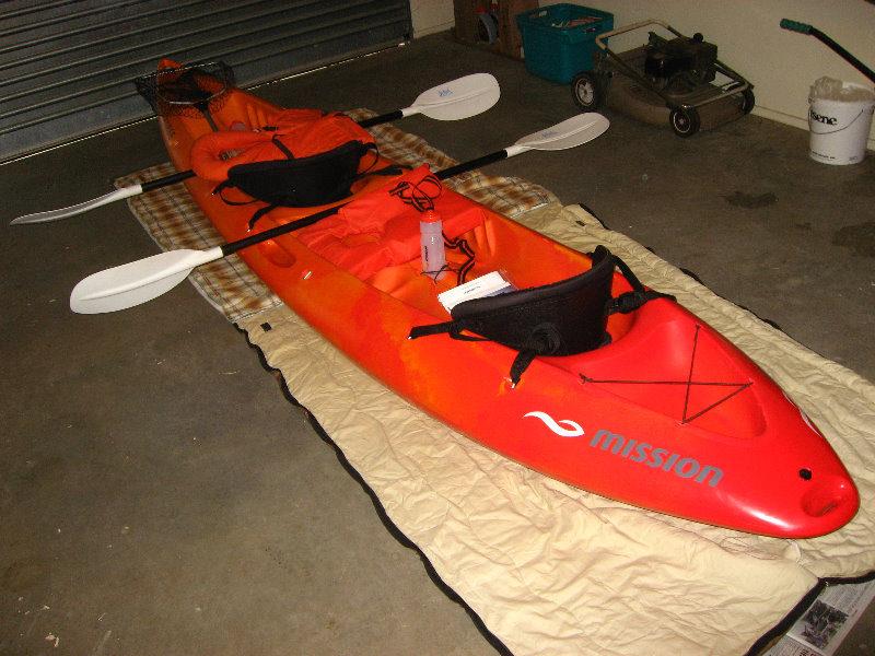 sit on top tandem kayak