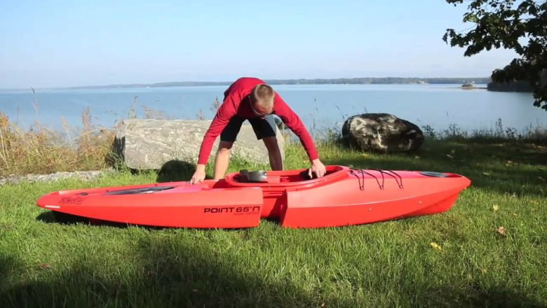 Modular kayak sport in Western New York