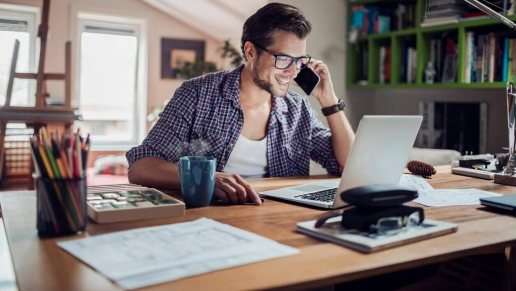 permanent working place Your home based business: The practical considerations