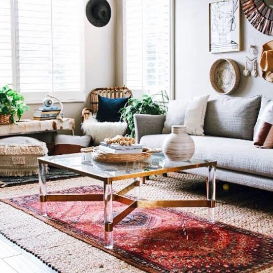 Boho-Chic Living Rooms Top Living Room Trends for 2020