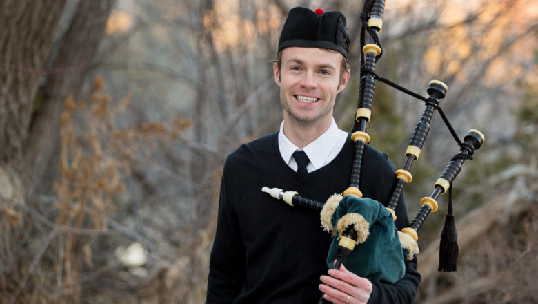 Buying good chanter is first step to learning bagpipes