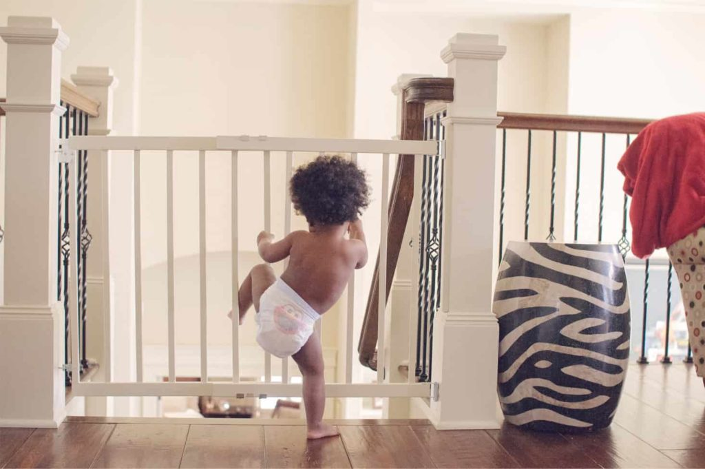 Childproof the house for a stepchild's visit