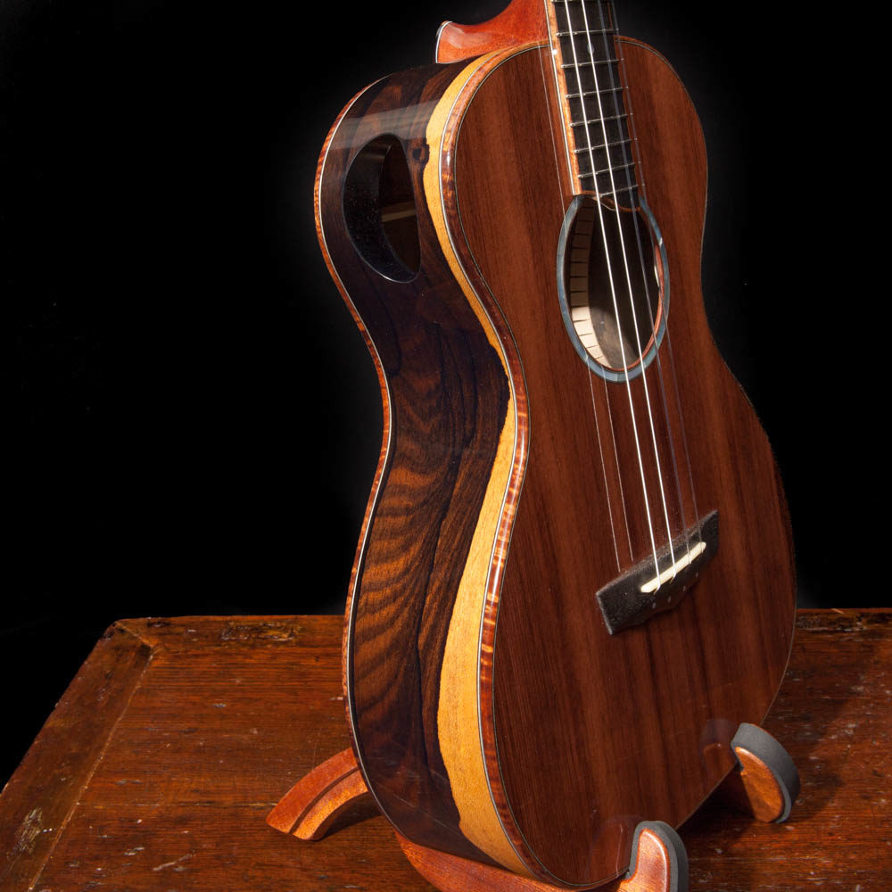 Learn to play custom ukulele
