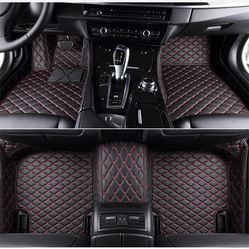 leather car floor mats