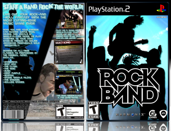 Retro gaming box PS2 game review – Rock Band