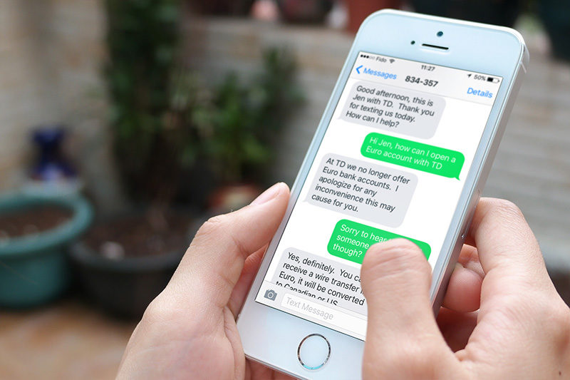 text messaging service SMS Marketing- A versatile genre in the world of Marketing