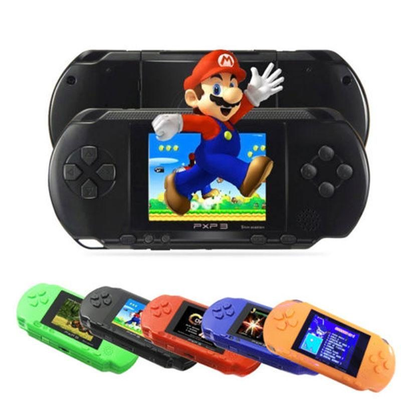 Hand held console video games for young children