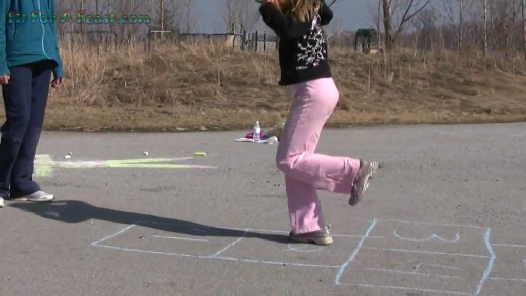 Hopscotch Fun & Simple Outdoor Activities for Kids