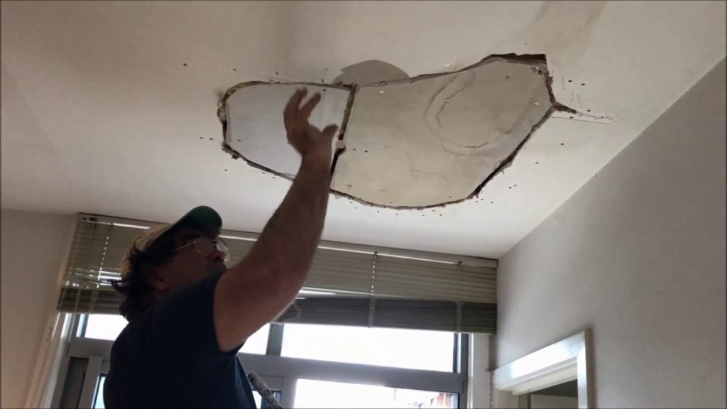 Act immediately How to Repair a Water Damaged Ceiling