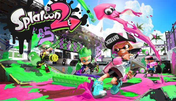 Splatoon 2 Best Video Games You Can Play with Your Kids