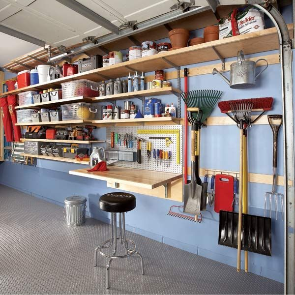 rack 5 Ways to Reduce Your Garage Clutter