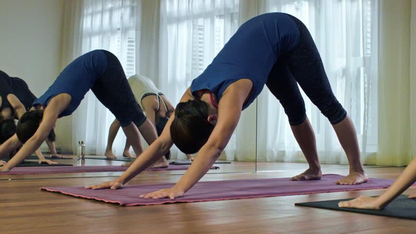 hot yoga trainer