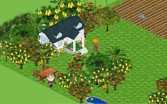 Facebook games: Farm Town